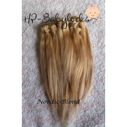 1/2 oz (15 gr) 03 NORDIC BLOND. RUBIA NORDICA. MOHAIR HEIKE POLITZ