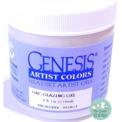 GLAZING GEL. 118 ML/4 OZ. ENVASE ORIGINAL