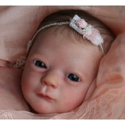 "Realborn® ASHLEY despierto. 17"". KIT PARA REBORN ASHLEY AWAKE"