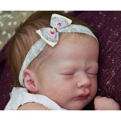 "Realborn® ASHLEY dormido. 17"". KIT PARA REBORN ASHLEY SLEEPING"