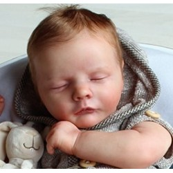 Realborn® Reese Sleeping. Kit Reborn Reese Dormido