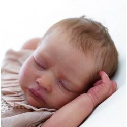 REALBORN KELSEY dormido. Kit Reborn Kelsey Sleeping.