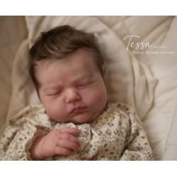 REALBORN TESSA Sleeping. KIT REBORN TESSA DORMIDA