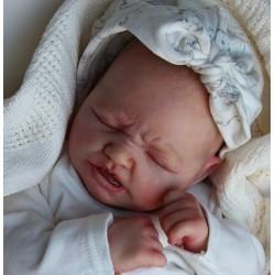 Realborn RUBY Sleeping. Kit Reborn Ruby dormida.